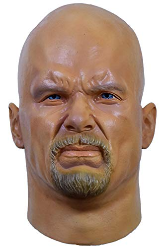 Stone Cold Steve Austin Mask - Stone Cold Steve Austin WWE Adult Halloween Mask