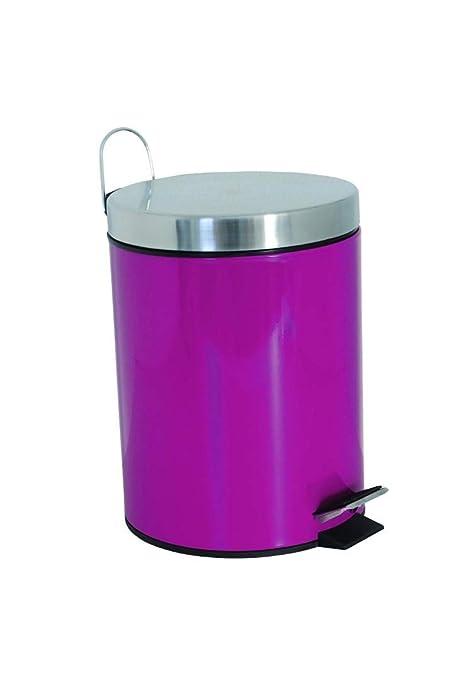 Fuchsia MSV Metal STEPBIN 3L Pink