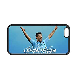Durable Back Phone Cover For Kids Custom Design With Sergio Aguero For Apple Iphone 6 Plus Choose Design 4