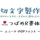 nc-smile 1文字からの切文字 オーダーメイド 製作 つばめR・ユニーク・POP書体 カッティング ステッカー シール (文字高さ 20mm)