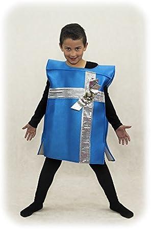 Disfraz de Paquete Regalo Infantil (Azul): Amazon.es: Juguetes y ...
