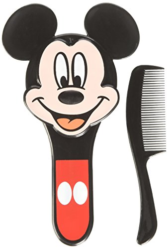 Mickey Mouse Comb & Brush Set (Disney Brush And Comb Set)