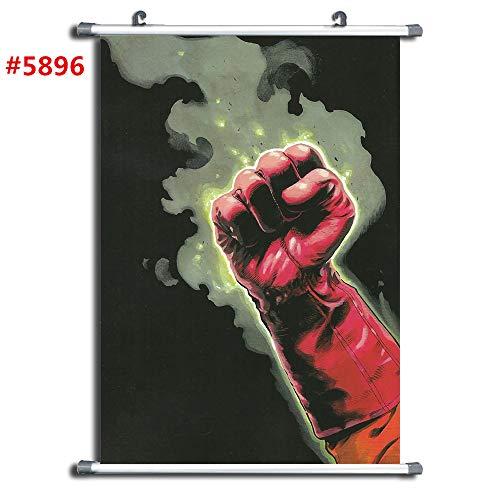 5896 One Punch Man Anime manga wall Poster Scroll room home