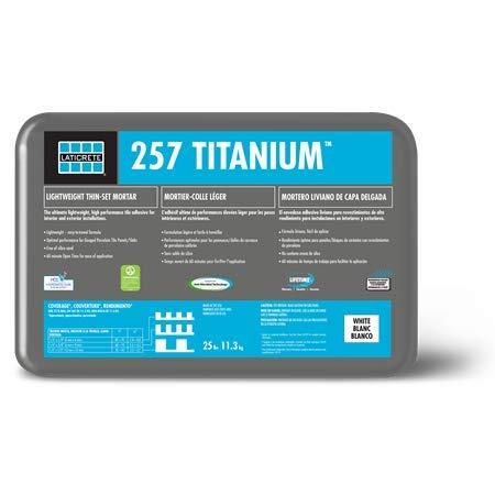 257 Titanium Grey 25 lbs. by Laticrete