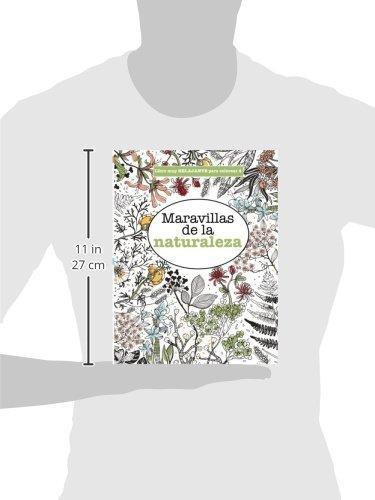 Libros para Colorear Adultos 4: Maravillas de la naturaleza: Volume ...