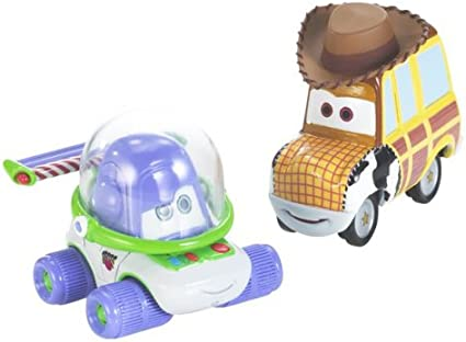 Amazon Com Cars Movie Moments Buzz Woody Toys Games