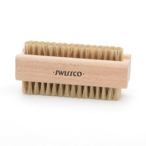 Swissco Wooden Natural Bristle Nail Brush 1 ea by Swissco
