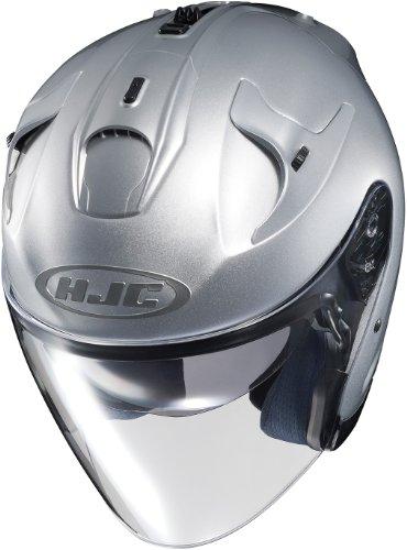 HJC FG-JET Open-Face Street Helmet - Silver - MD