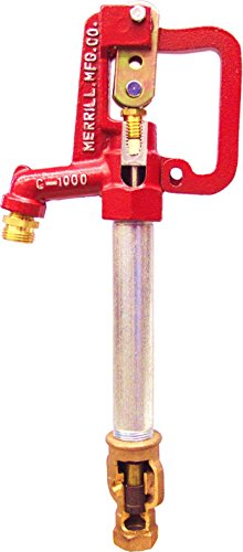 Merrill MFG CNL7502 No Lead Frost Proof CNL-1000 Series Yard Hydrant, 3/4