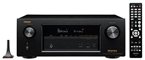 Denon AVR-X2200W 7.2 Channel 4K Ultra HD Receiver With Bluet