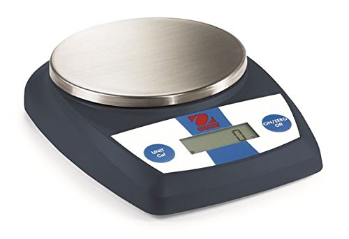 Ohaus CL5000F Food, Bakery Weighing Scale 5000 g X1 g, 11lb:0.4oz x 0.1oz 176, Carrying Case,New.0 x 0.1 (0.1 Ounce Case)