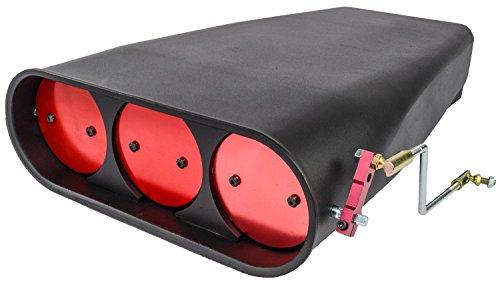 - JEGS 50086 Bug Catcher Style Scoop Fits Single or Dual 4-Barrel Carburetors