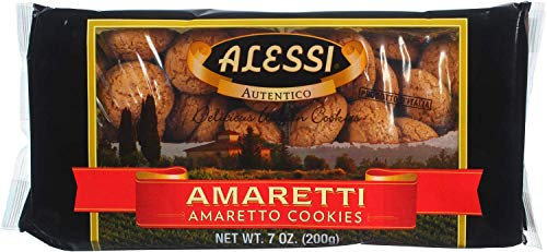 Alessi Amaretti Cookies, 7 Ounce (Pack of 12) ()