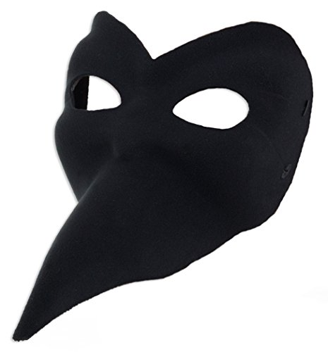 Forum Mardi Gras After Midnight Ballo Mask, Black,