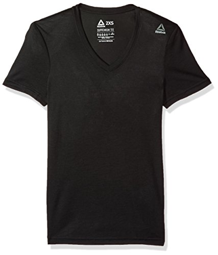 - Reebok Supremium T-Shirts, Large, Black