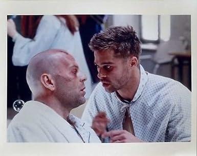 Bruce Willis Brad Pitt 12 Monkeys 8x10