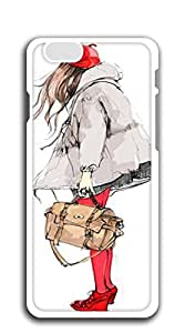 Back Cover Case Personalized Customized Diy Gifts In A iphone 6 cases for girls 4.7 - Illustration beautiful models