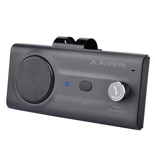 Avantree Bluetooth Hands Free Car Kit, Quality Loud Speakerphone, Siri Google...