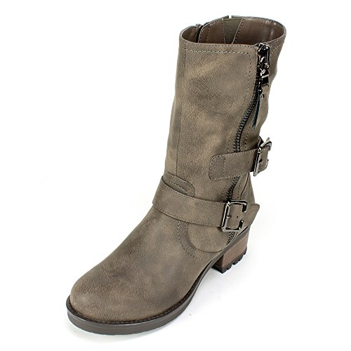 UPC 888375393893, White Mountain 'BIRCH' Women's Boot, Stone - 6 M