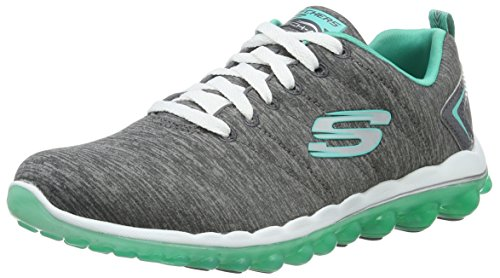 Skechers Sport Vrouwen Skech Lucht Run High Fashion Sneaker Houtskool / Groen