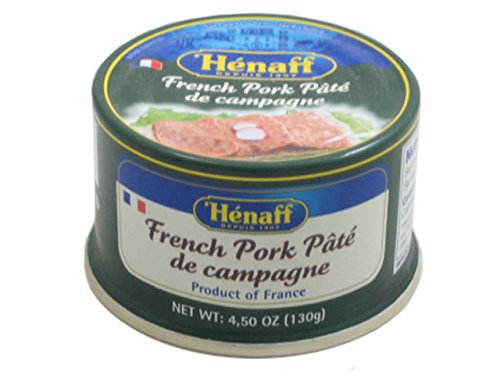 Henaff French Pork Pate de campagne, Country Pate - 130 - French Pate