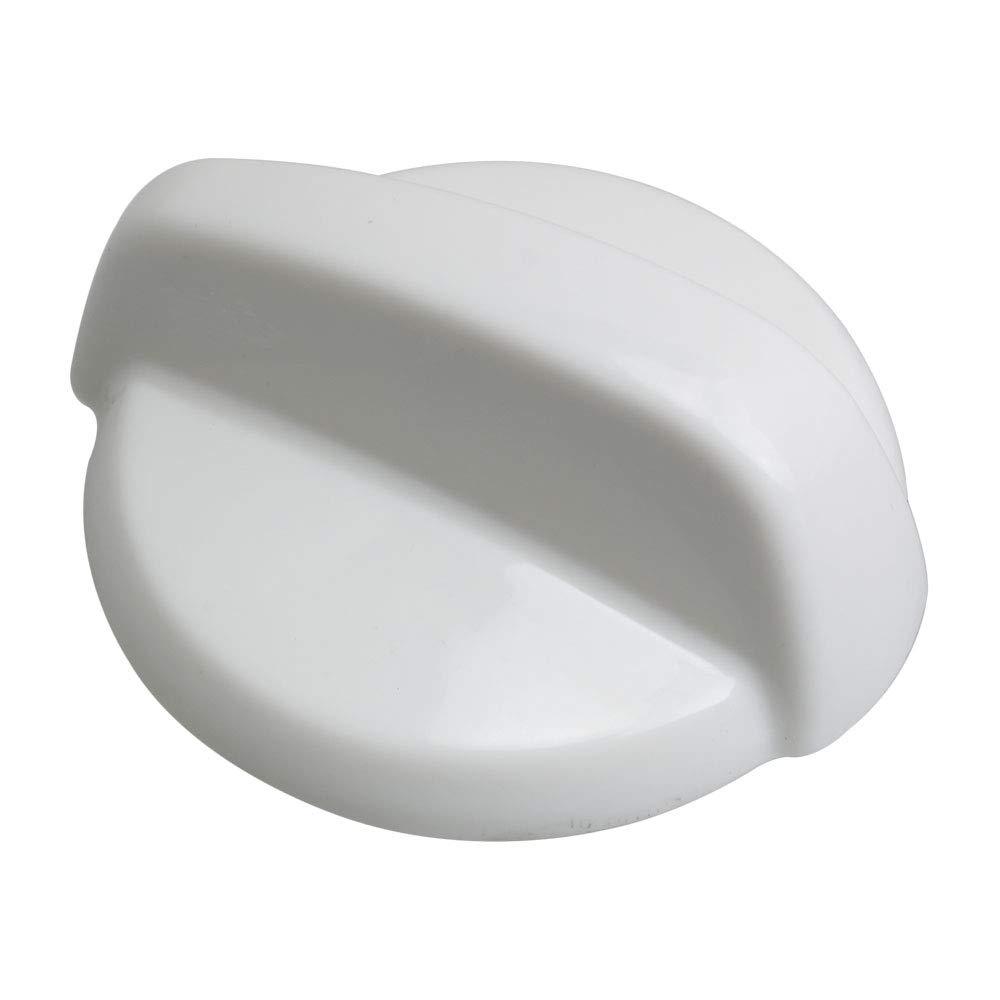 Mxfns 50mm Dia WB03T10282 Knob Plastic Burner Range Control Knob White for GE