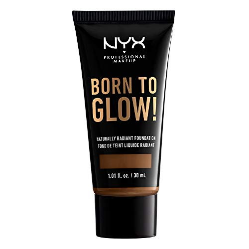 NYX PROFESSIONAL MAKEUP Born To Glow Naturally Radiant Foundation - Mocha