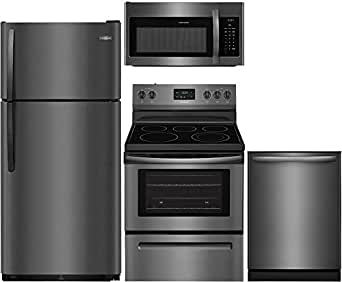 Amazon.com: Frigidaire Black Stainless Steel Package with