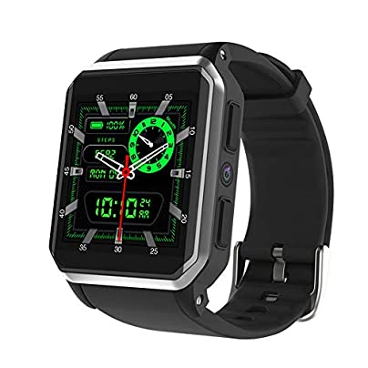 ACCDUER Fitness Tracker Activity Tracker Waterproof Smart Watch Wristband with Heart Rate Blood Pressure Pedometer with Camera Call function Estimated Price £106.99 -