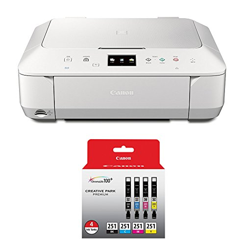 Canon Pixma Mg6620 Wireless Color Photo All In One Inkjet White