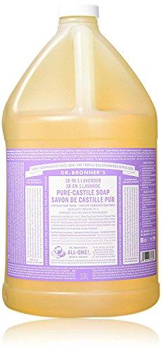 (Dr. Bronner's Pure-Castile Liquid Soap - Lavender, 1 Gallon)