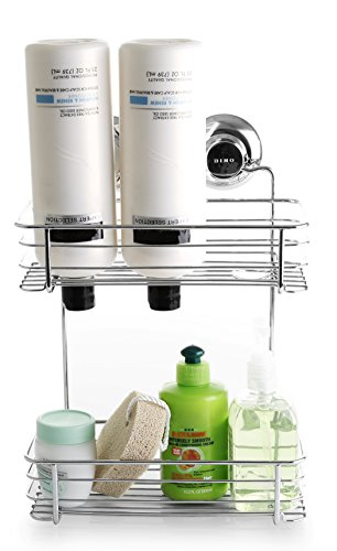 BINO SMARTSUCTION Stainless Shower 2 Tier product image