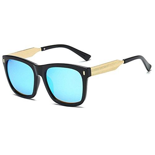 couleur de Aoligei pas lunettes carrés Hommes cher B lumineux lunettes rétro et soleil femmes 0wqRx4wC