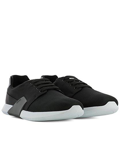 Prada Mannen 4e31673h8if0msk Zwarte Doek Sneakers