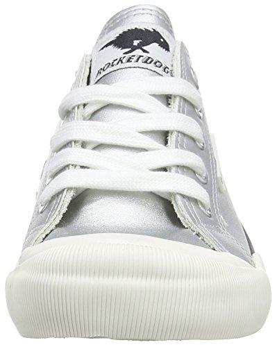 Rocket Dog Women's Jazzin Low-Top Sneakers Silver (Cadet Silver) nMST6