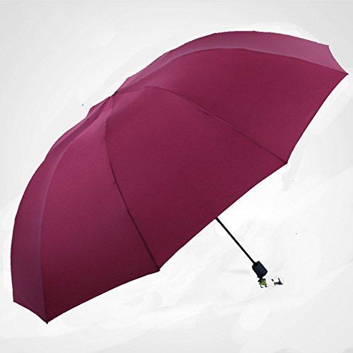Amazon.com: Portable Standing Umbrella - 152cm Big umbrella men rain woman windproof large paraguas male Women Sun 3 floding big umbrella outdoor parapluie ...