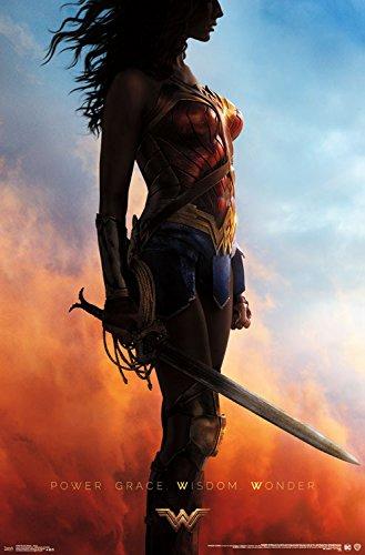 """Trends International Wonder Woman Teaser Wall Poster, 22.375"""" x 34"""""""