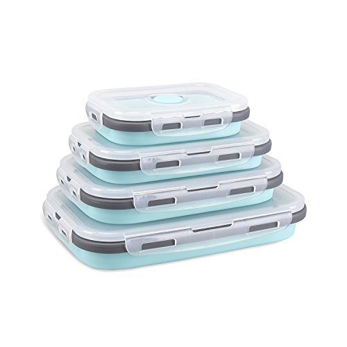 colapsable lunch container - 6