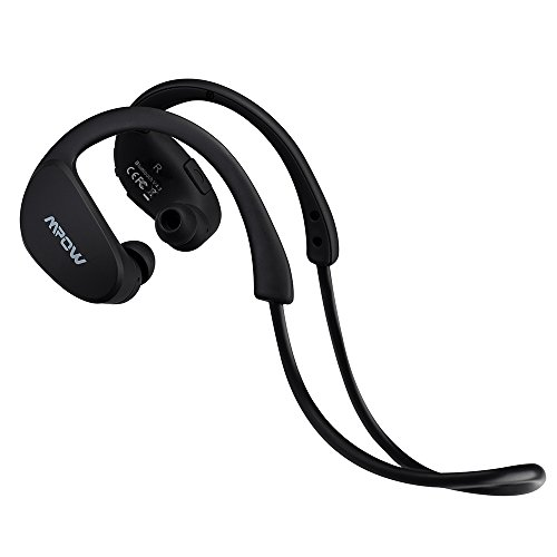 Mpow Cheetah Sport Bluetooth 4.1 Wireless Headphones Stereo Sport Running Gym Exercise Headsets Earphones-Retail Packaging-Black
