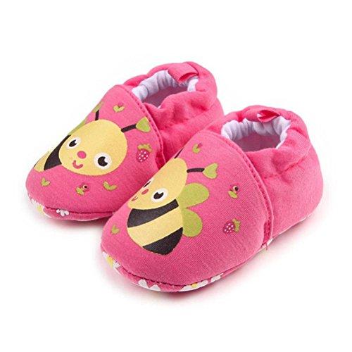 Igemy 1 Paar Lovely Baby Round Toe Flats weiches Kleinkind Hausschuhe Schuhe C