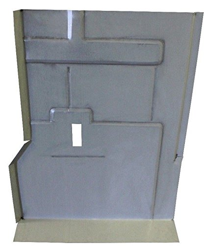 - Motor City Sheet Metal - Works With 1973-1991 Chevy Full Size Blazer Jimmy Floor Pan Under Rear Seat Passenger Side