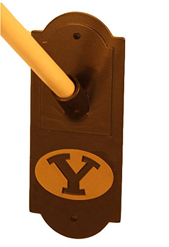 Henson Metal Works 3500-44 Brigham Young University Logo Flag Holder