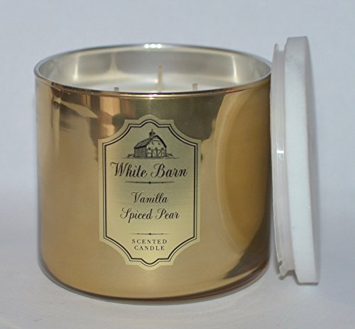 White Barn 3 Wick Candle Vanilla Spiced Pear by White Barn (Image #3)