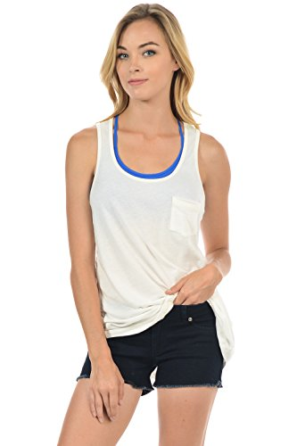 Basico Women Basic Swing Loose tank top & Cami Tee (Large, Loose Tank - - Sale Macy's Columbus