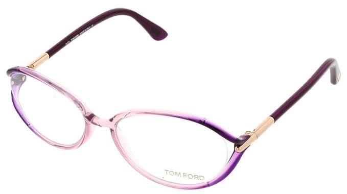 Amazon.com: TOM FORD FT5212-074 - Marco de cristal de ojo ...