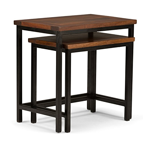 Lacquer Nesting Table - 4