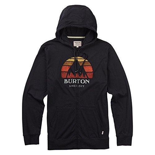 Hooded Burton Jersey (Burton Underhill Full-Zip Hoodie, True Black, Medium)