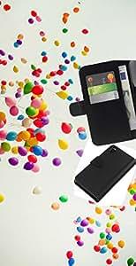KLONGSHOP // Tirón de la caja Cartera de cuero con ranuras para tarjetas - Globos coloridos - Sony Xperia Z3 D6603 //