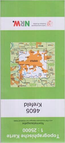Krefeld Karte.Krefeld N Topographische Karten 1 25000 Tk 25 Nordrhein Westfalen