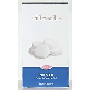 Amazon.com : IBD Nail Lint Free Wipes, 80 Count : Nail